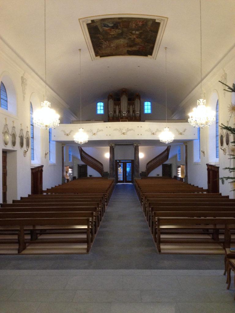 Kirche Tafers